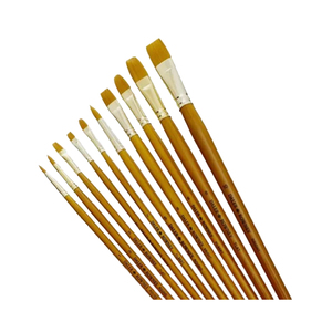 Medium cass art simply   paint brush   pack of 10