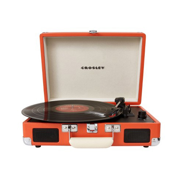 Large crosley cruiser portable turntable