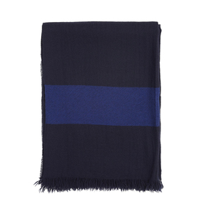 Medium voyage cashmere travel blanket marine