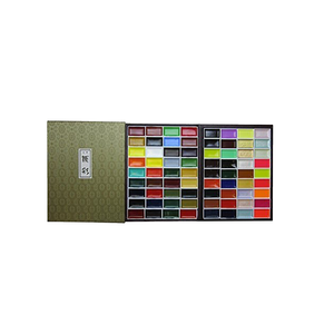 Medium kissho gansai japanese watercolor paint 72 colors set by kissho
