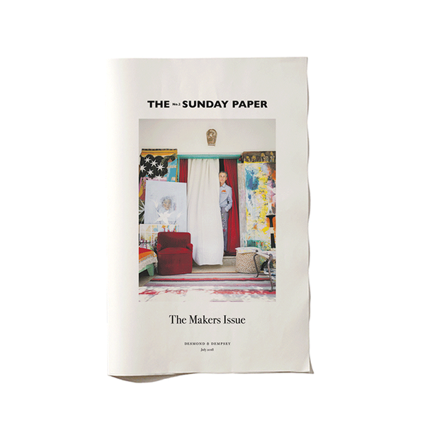 Large sunday paper