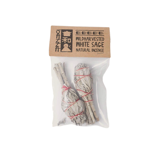 Medium californian white sage incense