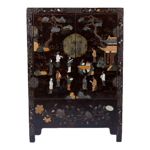 Medium ceraudo chinoiserie cabinet