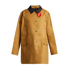 Medium la fetiche yoko waterproof reversible trench coat