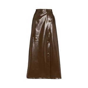Medium maryam massir zhall button front skirt