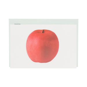 Medium postalco apples encyclopedia cards
