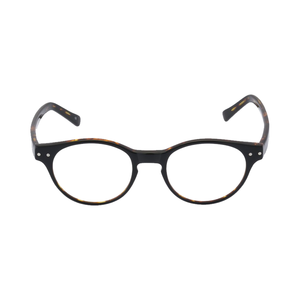 Medium retro peepers black tortoise