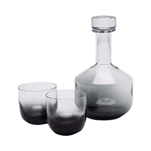 Medium tank whiskey set black