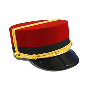 Medium bellboy hat chicargo costume