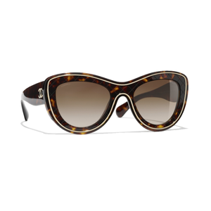 Medium chanel cat eye sunglasses