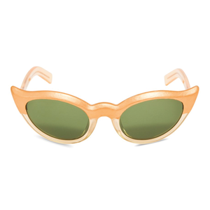 45d80d6509 Retro Peepers. Frida Kahlo Sunglasses Gold