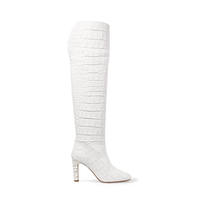 Medium gabriella hearst linda crocodile effect over the knee boots