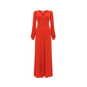 Medium bella freud  nova crepe puff shoulder dress