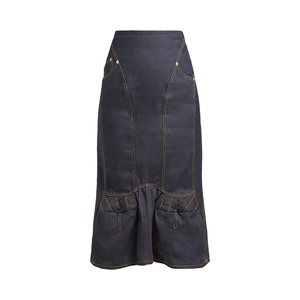 Medium denim skirt