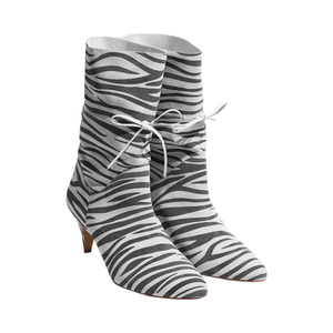 Medium zebra shoe