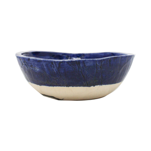 Medium kana london serving bowl klein blue