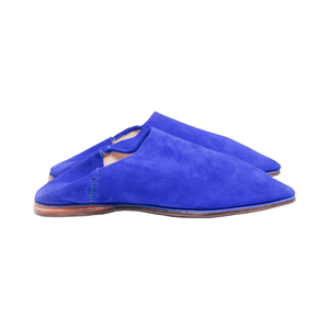 Medium alex eagle moroccan slides yves klein blue