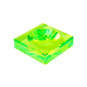 Medium conranshop acrylic green cliclet bowl