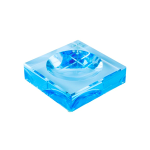 Medium conranshop acrylic blue chiclet bowl