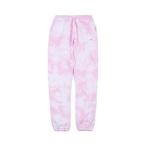 Medium soulland dent drawstring sweatpant   pink tie dye