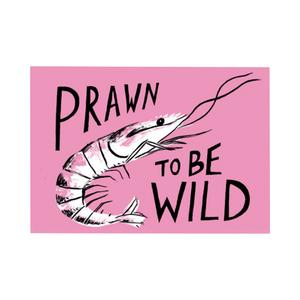 Medium not another bill prawn card