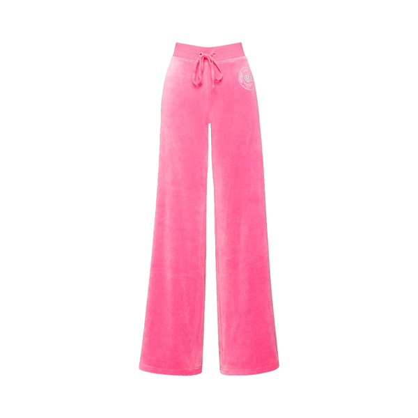 Large juicy couture luxe crown velour mar vista pant
