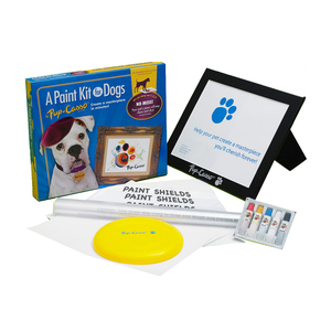 Medium pupcasso  no mess paint kits for dogs