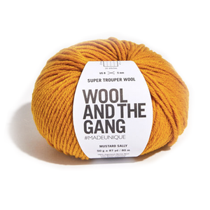 Medium super trouper wool