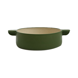 Medium need supply workaday handmade medium workaday casserole in green