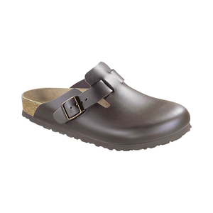 Medium birkenstock leather clog