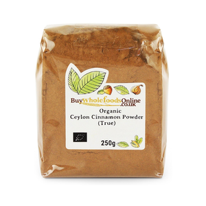 Medium buywholefoodsonline organic ceylon cinnamon powder  true  250g