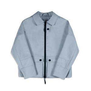 Medium the arrivals  ponti powder blue jacket