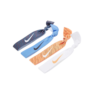 Medium nike print hairband 4 pack
