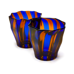 Medium campbell rey rosanna murano striped glasses