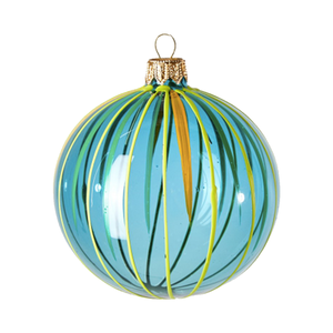 Medium the conran shop circus stripe bauble blue