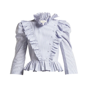 Medium isa arfen edith ruffled cotton blouse
