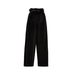 Medium isa arfen velvet trousers with belt