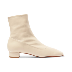 Medium by far shoes este leather ankle boot
