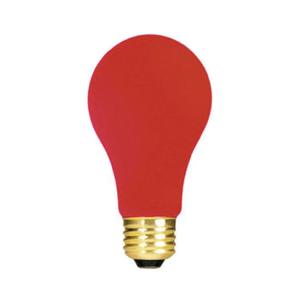 Large bulbrite 106760 60w ceramic red a19 bulb