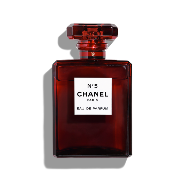 Large chanel number 5 limited edition ephemeral red