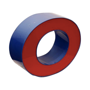 Medium pamono dutch red   blue light letter o