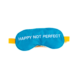 Medium happy not perfect eye mask