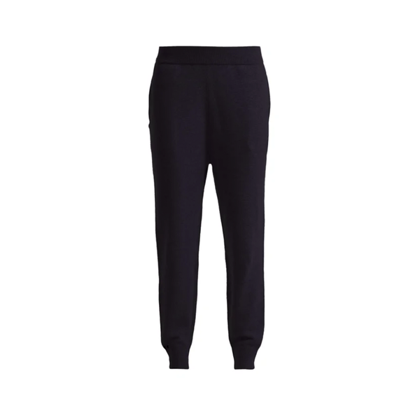 Large matches fashion cashmere trousers