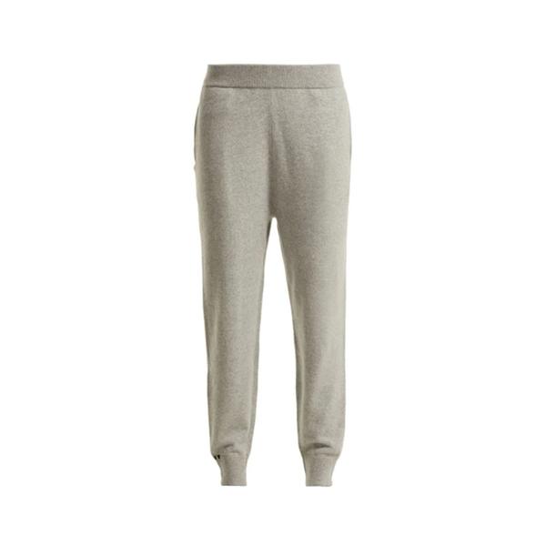Large extreme cashmere no. 56 yogi cashmere blend track pants