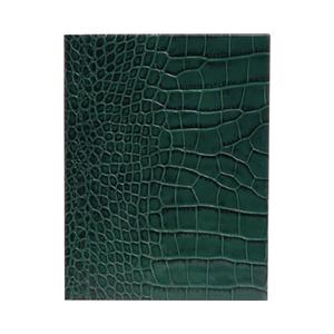 Medium pop and suki leather notebook