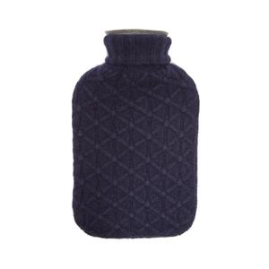 Medium allude lattice knit cashmere cover hot water bottle