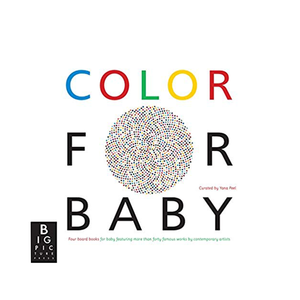 Medium color for baby board book