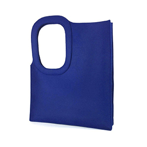 Medium natasha o farrell felt geometric tote bag