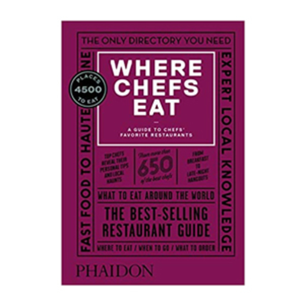 Large where chefs eat third edition