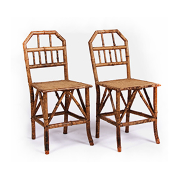 Large bamboo chairs